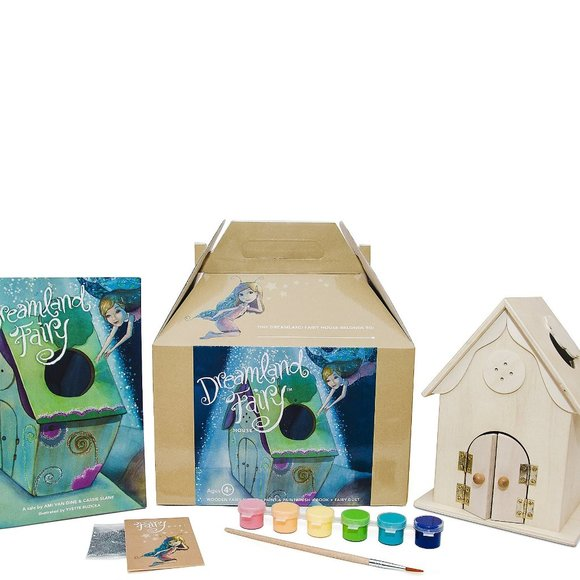 House Kit with Book, Paint & Fairy Dust